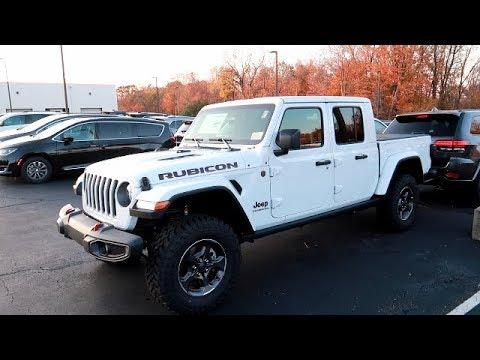 BRAND NEW JEEP GLADIATOR RUBICON REVIEW - AWESOME SPEC!! | FaTkaT