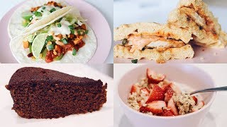 What I Ate Today | a lot of good food (vegan)