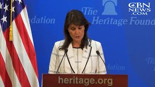 'A Cesspool of Political Bias': Nikki Haley on Leaving UN Human Rights Council