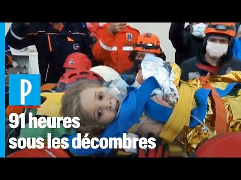 Séisme en Turquie : Ayda, 3 ans, miraculée de la 91ème heure