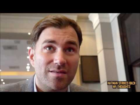 "EDDIE HEARN: ""ANDRE WARD VS SERGEY KOVALEV WAS STOPPED TOO EARLY""!!!"