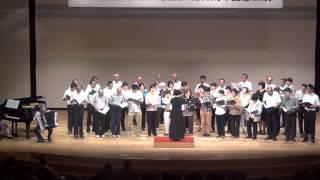 絆の会合唱団と男声合唱団純のコラボ 社会福祉法人絆の会HP http://www....