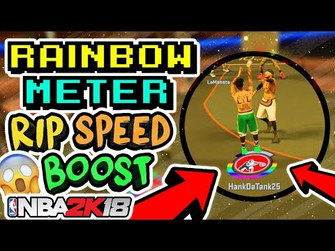 NO SPEED BOOSTING IN NBA 2K18 + NEW RAINBOW SHOT METER + BRAND NEW HALL OF FAME BADGES? - NBA 2K18 😱