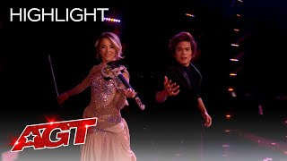 Shin Lim And Lindsey Stirling Deliver a Remarkable Performance - America's Got Talent 2021