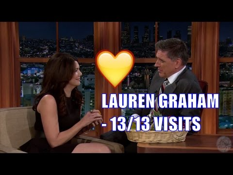 Lauren Graham  One Of Craig's Friends  1313 Appearances In Chronological Order