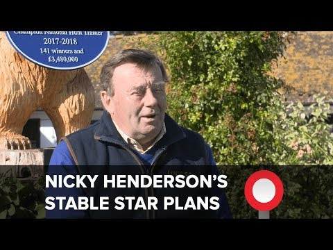 Nicky Henderson on stable stars Altior, Buveur d'Air and Might Bite