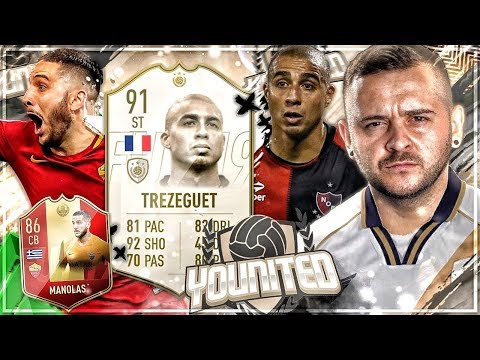 FIFA 19: YOUnited ICON Trezeguet #5 wat is da drin ? 😅