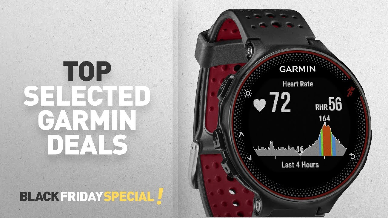 top black friday garmin deals garmin forerunner 235 gps running watch with elevate wrist heart. Black Bedroom Furniture Sets. Home Design Ideas