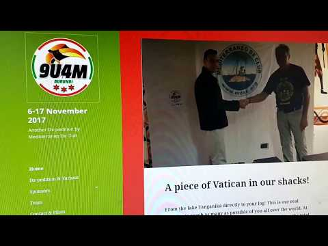 9U4M, Burundi AFRICA, 10MHz, CW, Worked by HL2WA