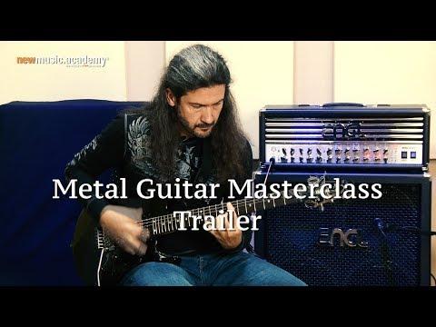 Metal Guitar Masterclass - Trailer | Mit Victor Smolski