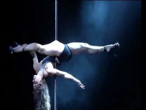 Jenyne Butterfly  Miss Pole Dance South Africa  Music Angel : Massive Attack