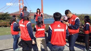 Atlit Honda DBL Indonesia All Star Mengunjungi Golden Gate Bridge Amerika Serikat