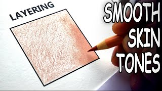 How to BLEND & LAYER Colored Pencils    Drawing Tutorial screenshot 1