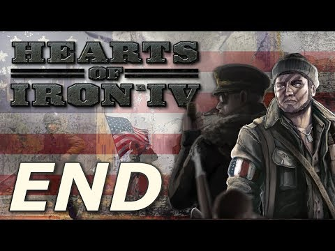 Hearts of Iron IV: Kaiserreich | American Union State - END