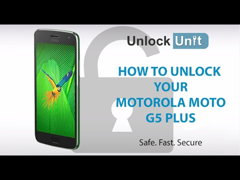 How to Unlock Motorola Moto G5 Plus using Unlock Codes
