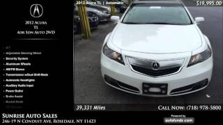 Used 2012 Acura TL | Sunrise Auto Sales, Rosedale, NY