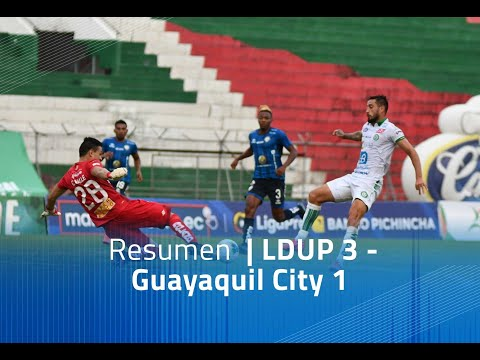 LDU Portoviejo Guayaquil City Goals And Highlights