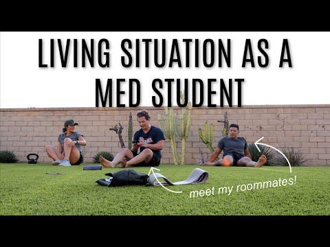 Medical Student Living Situation + Pep Talk | VLOG