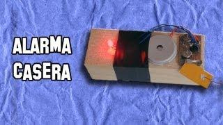 Como Hacer una Alarma Casera de Barrera | How to make a home alarm Barrera