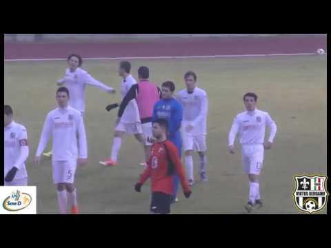 Virtus Bergamo 1909-Oltrepovoghera 2-1, 1° giornata di ritorno 2017/2018 Juniores Nazionale