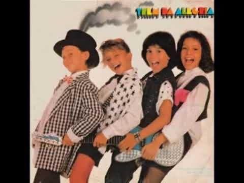 Trem da Alegria  Disco Completo 1986
