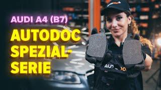 Wie Sie Bremssteine beim AUDI A4 (8EC, B7) selbstständig austauschen - Videoanleitung