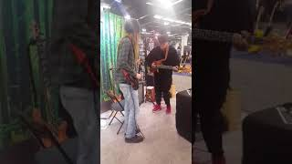 2018 Namm show. Tony stop by again TUNE!