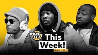 Offset Keeps it Real + Davido Talks Success + Anderson Paak Funk Flex Freestyle on HOT 97 This Week!