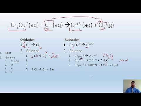 20.1+2  Redox reactions and balancing them