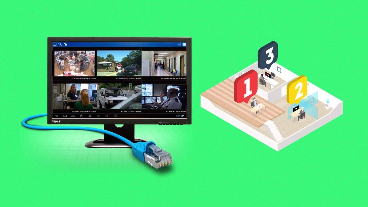 VZ-32IPM – 32″ IP Input Monitor | ViewZ