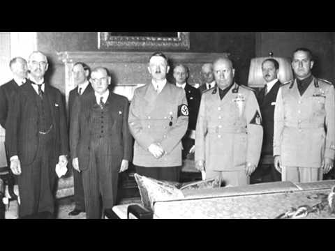 29th September 1938 Munich Agreement Annexes Sudetenland Youtube