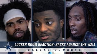 Ezekiel Elliott, Leighton Vander Esch + More Locker Room Reactions | Dallas Cowboys 2018