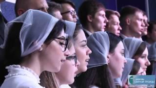Освящение Молитвенного Дома в церкви