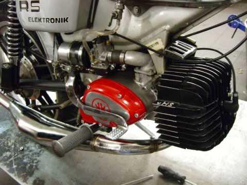 """Cafe Racer Motorcycle For Sale >> VHS Kreidler Van Veen RS 007 """"The Black Mamba""""... - YouTube"""