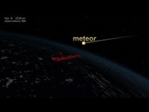 NASA | NPP Sees Aftermath of the Chelyabinsk Meteor -2017