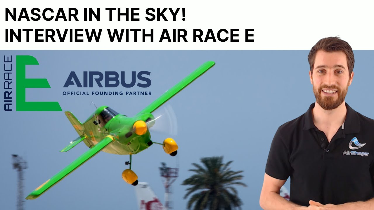 Nascar in the Sky - Interview with Air Race E