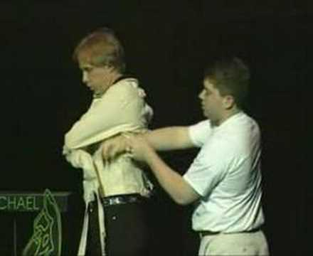 Posey Strait Jacket Escape 1st Person ever to do it   The Great Escape Artist Michael Griffin