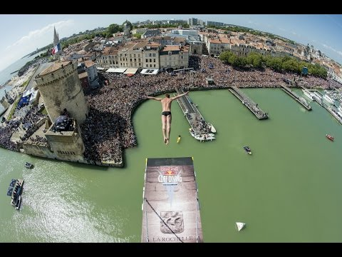 Red Bull Cliff Diving World Series 2015 – Action Clip –  La Rochelle, France