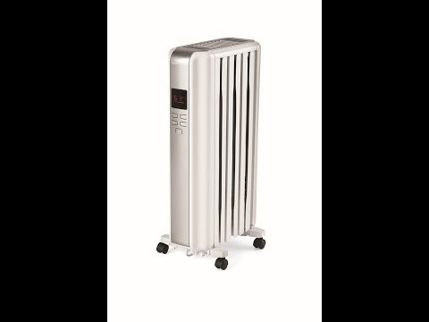 Mainstays - Digital Radiator Heater - How To Unbox/Assemble/Set Up
