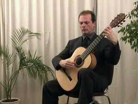 Stefano Grondona plays M. Llobet: 6 Canciones Catalanas