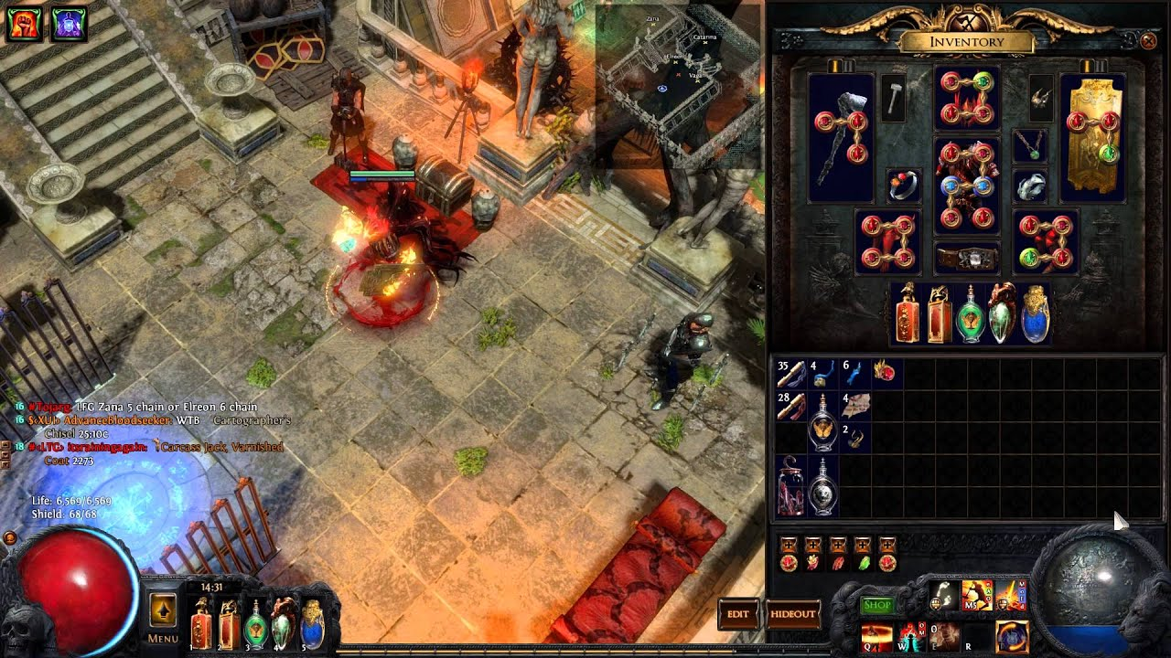Path Of Exile Build   Hardcore