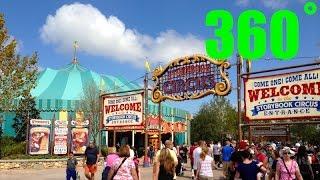 Fantasy Land Big Top Tent Souvenir Gift Shop INTERACTIVE 360˚ VR HD Walt Disney World