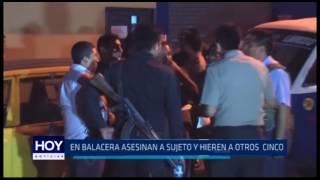 Buenos Aires: En balacera asesinan a sujeto y hieren a otros cinco