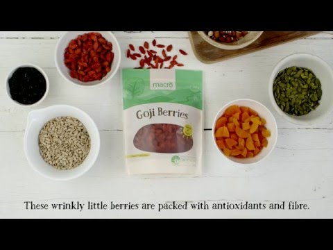 How to Make Homemade Goji Berry Trail Mix | Woolworths