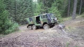 Crawling with Volvo TGB 13, 6x6
