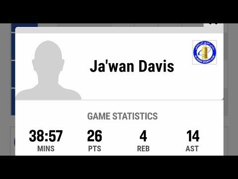 Qatar Sports Club vs Al Khor (Jawan Davis #3) 26pts, 14assts, 4rebs, INDEX 41 !