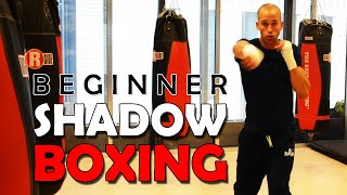 Beginner  Shadow Boxing Trial Round 1 and 2.