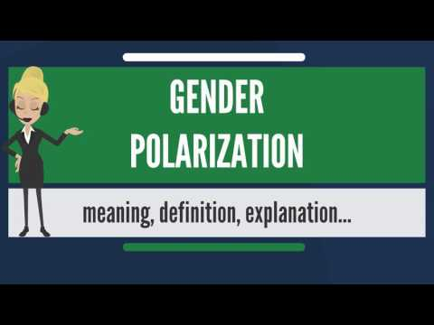 What is GENDER POLARIZATION? What does GENDER POLARIZATION mean? GENDER POLARIZATION meaning
