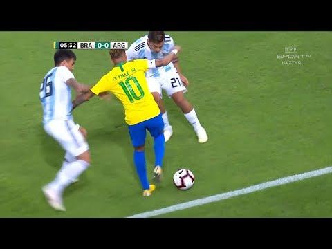 Neymar Jr vs Argentina | 2018 HD 1080i