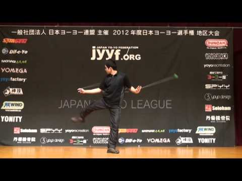 2012 Central Japan Yo-Yo Contest 2A Pre Keita Mimuro
